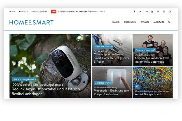 home&smart-website